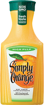 Simply Orange® High Pulp Orange Juice