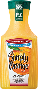 Simply Orange® Medium Pulp with Calcium & Vitamin D Juice