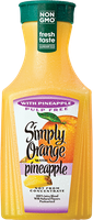 Simply Orange® Pulp Free with Pineapple Juice