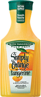 Simply Orange® with Tangerine juice