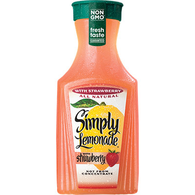 Simply Lemonade® with Strawberry Juice
