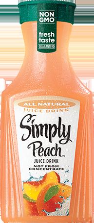 Simply Peach™ Juice Drink