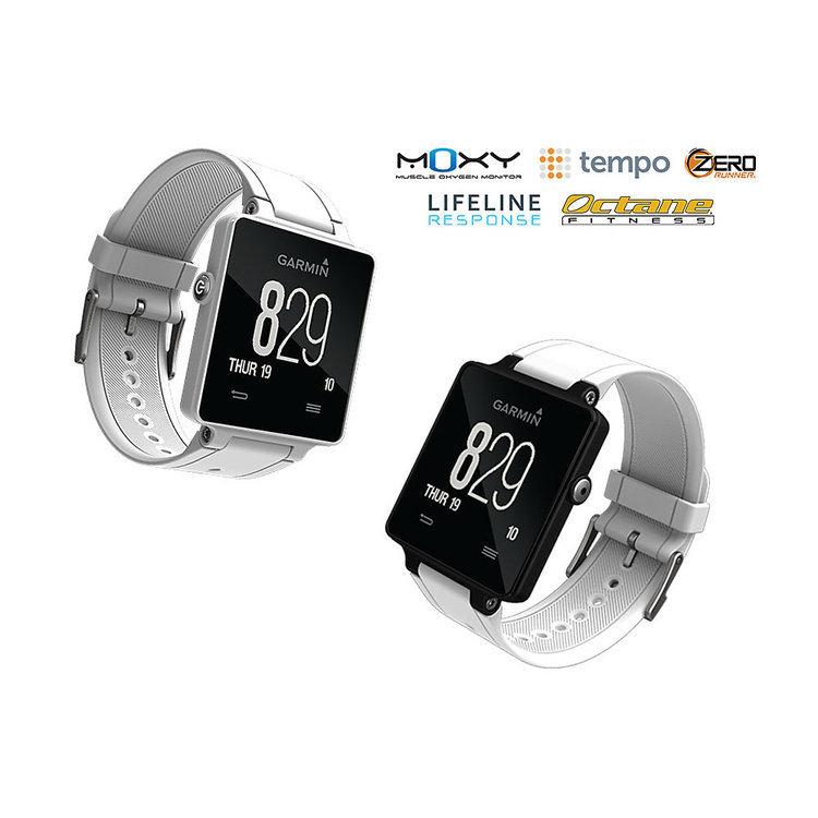 Garmin Vivoactive GPS Smart Watch - White