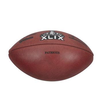Recaro North Wilson Super Bowl XLIX Game Football - Patriots