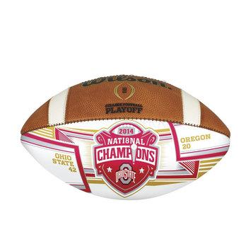 Recaro North Wilson 2014 College Football Playoffs Championship Autograph Ball