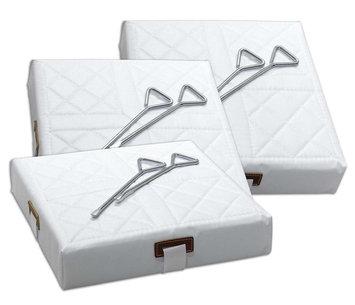 Franklin Sports MLB 3-piece Tarkotex Base Set