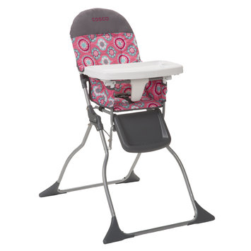 Cosco Simple Fold High Chair (Posey Pop)