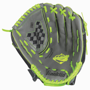 Franklin Sports 13.0 Gray/Lime Mesh PVC Windmill Series Right Handed Glove