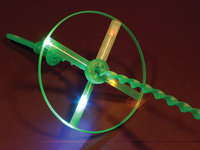 WeGlow International 18WW1 Flashing Whirly Wheel - Set Of 3