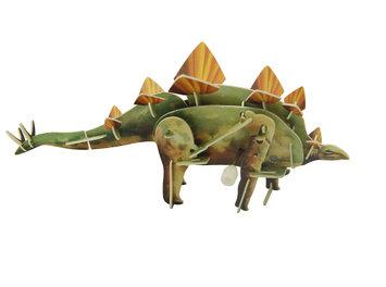 WeGlow International 29WTD20 Stegosaurus Udoit Wind Up - Set Of 2