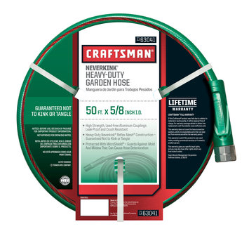 Craftsman Heavy Duty Neverkink Self-Straightening Hose- 50Ft.