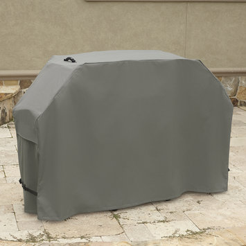 Eastview Gunmetal Gray Tan Grill Cover- 70