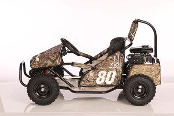 Monster Moto, Llc Monster Moto MM-K80RT Camo Youth Go-Kart