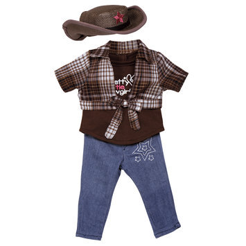 Adora Friends Pretty Little Cowgirl Outfit for 18 Inch Play Dolls