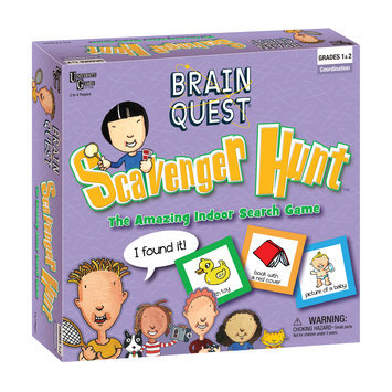 University Games Brain Quest Scavenger Hunt - The Amazing Indoor Search Game