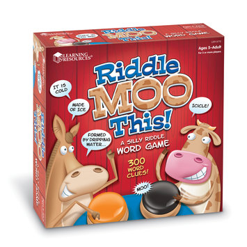 Learning Resources Inc. Learning Resources Riddle Moo This Riddle Word Game