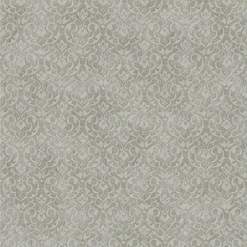York Wallcoverings, Inc. Impressions Mini Damask Wallpaper
