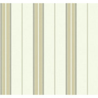 York Wallcoverings, Inc. Nautical Living Bay Stripe 2 Wallpaper
