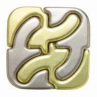 Bepuzzled Hanayama Level 6 Cast Puzzle - Square