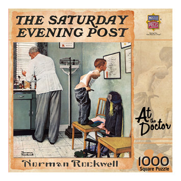MasterPieces Norman Rockwell At the Doctor 1000 Piece Jigsaw Puzzle