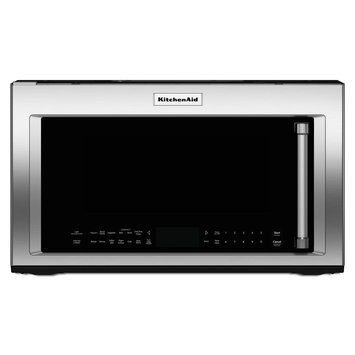 KitchenAid KMHC319ESS 1.9 Cu. Ft. Stainless Steel Over-the-Range Microwave - Convection