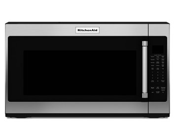 KitchenAid KMHS120ESS 2.0 cu. ft. Over-the-Range Microwave Oven with 1,000 Watts, 10 Power Levels, Sensor Cook Cycles, Keep Warm Function and Cookshield Finish: Stainless Steel
