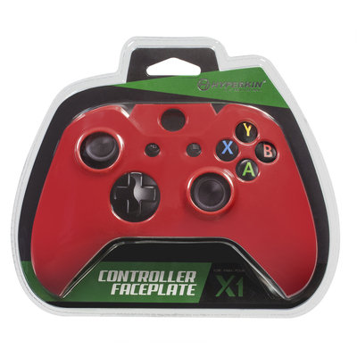 David Shaw Silverware Na Ltd HYPERKIN Xbox One Controller Faceplate M07090-RD, Red