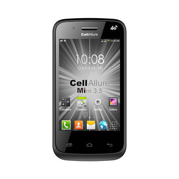 Gnj Manufacturing, Inc. CellAllure MINI 3.5 Unlocked GSM Muti carrier no contract DUAL-SIM Android Smart phone-Black