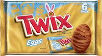 Twix Eggs Cookie Pieces