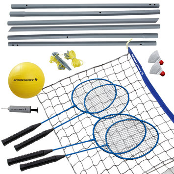 Sportcraft Volleyball and Badminton Combo - Verus Sports Inc