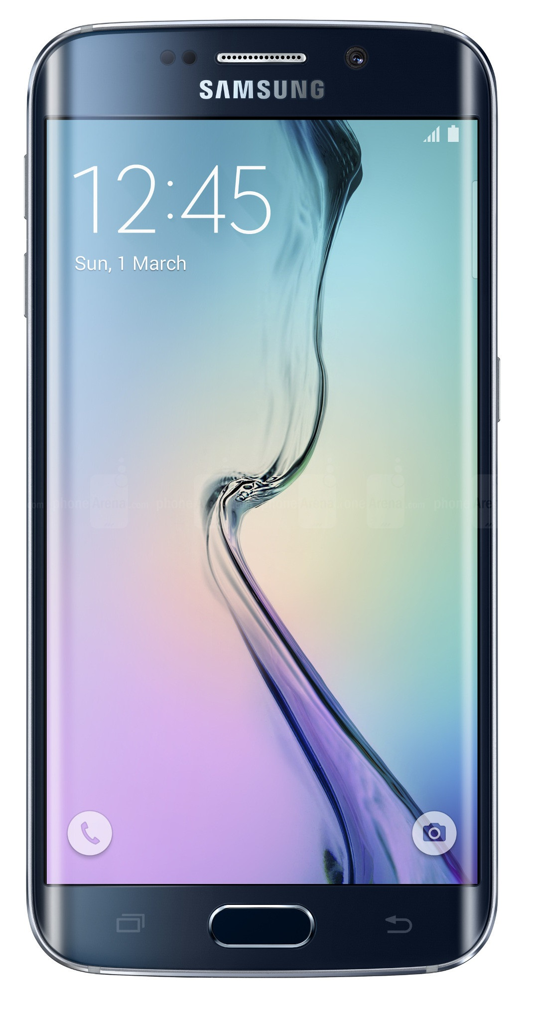 Samsung - Galaxy S6 Edge 4g With 64GB Memory Cell Phone (unlocked) - Black