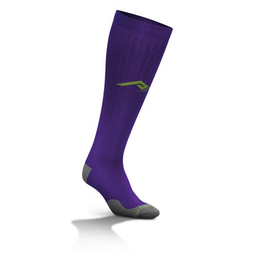 Cam Consumer Products, Inc. Marathon Tall Compression Sock 216 XS, Purple