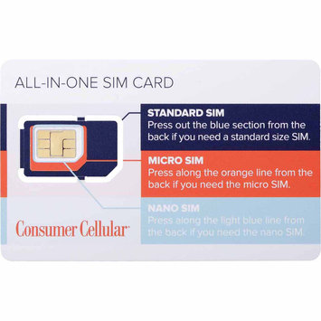 Consumer Cellular All In One SIM Card - CAM CONSUMER PRODUCTS, INC