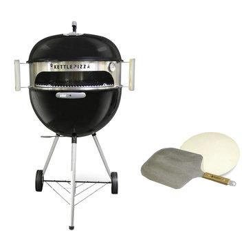 KettlePizza KPDU-22 Deluxe USA Kit for 18.5 In. & 22.5 In. Kettle Grills