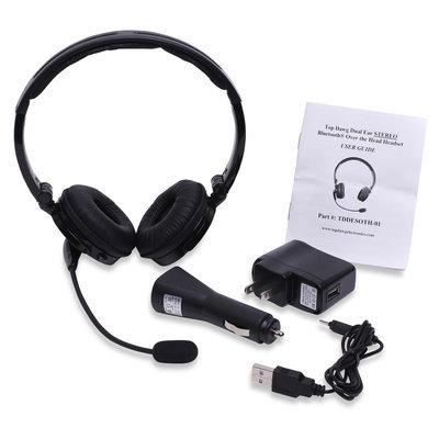 Top Dawg Electronics Dual Ear Stero Noise Headset