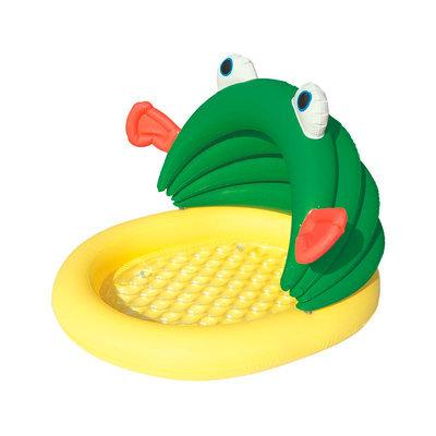 Bestway Inflatable Kids Fish & Me Sunshade Pool
