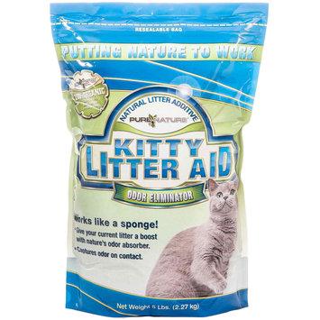 Pure Nature Pets Kitty Litter 5 lb. Zeolite All-Natural Cat Litter Additive LA005046
