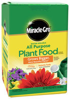 Miracle Gro 1 1/2 Pound w Plant Food 1001123 by Scotts