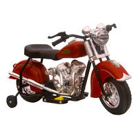 Giggo Toys Little Vintage Red Indian Motorcycle