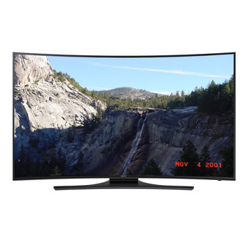 Topo-logic Systems, Inc. Samsung Reconditioned Curved 65 In 4K Ultra HD 120Hz Smart LED TV W/ WIFI- UN65HU7200FXZA
