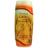 Avena Grisi Con Jalea Real Oat & Royal Jelly Shower Gel/jabon Corporal Balance 450ml
