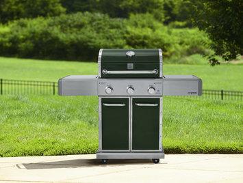 Kenmore Elite 550 Series 3 Burner Dual Fuel Green Gas Grill - waterbury garment