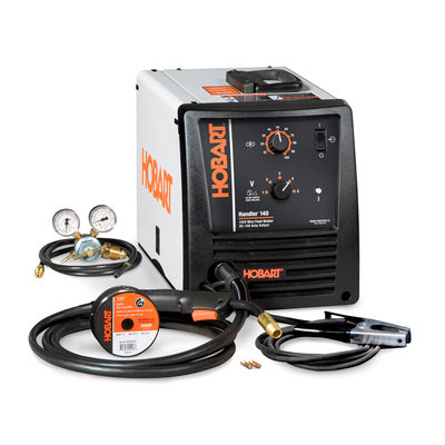Hobart Handler 140 Wire Feeder Welder Package