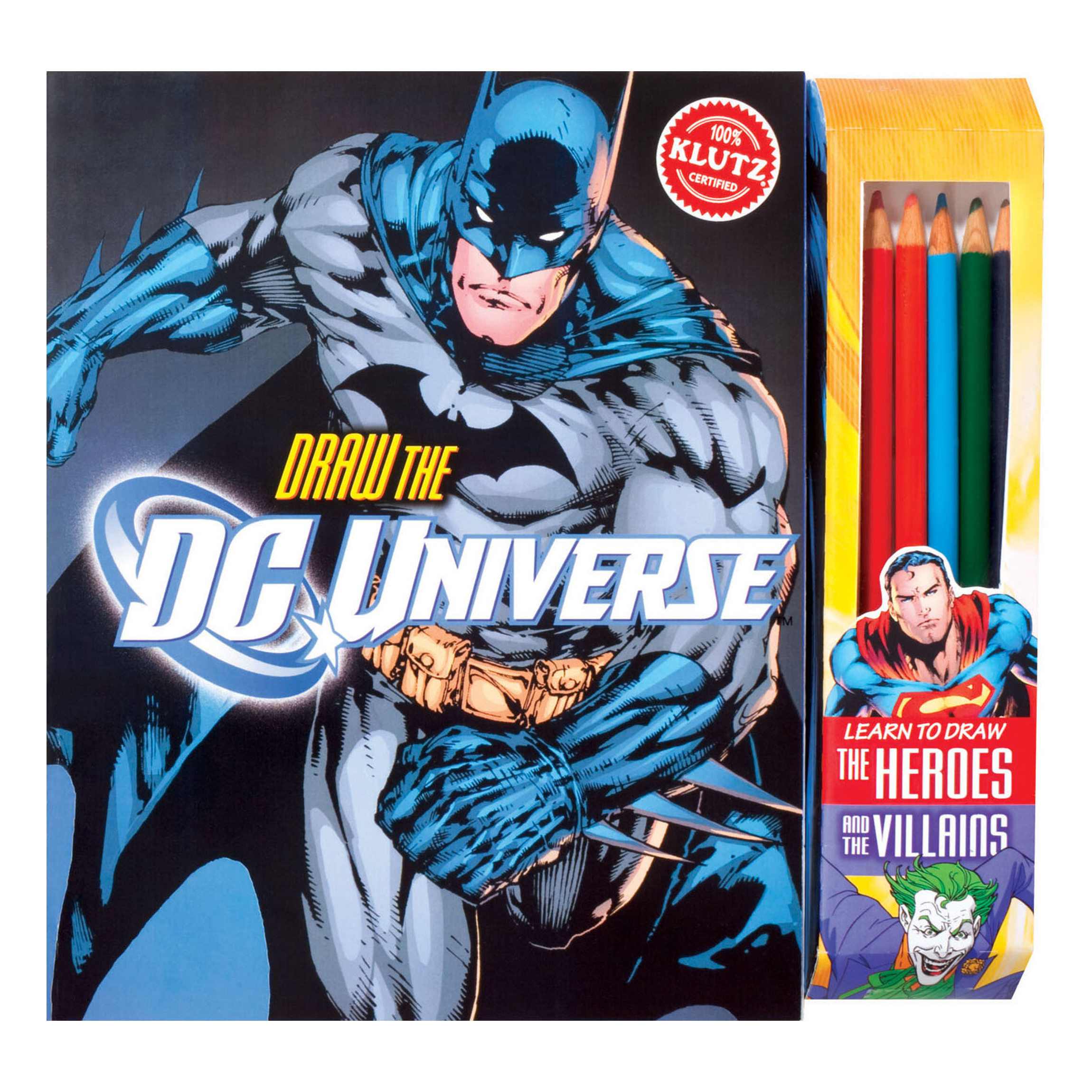 Klutz Draw the DC Universe Drawing Book