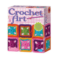 4M Crochet Art Set