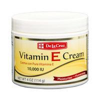 De La Cruz Vitamin E Cream 4 oz - Crema Con Vitamina E