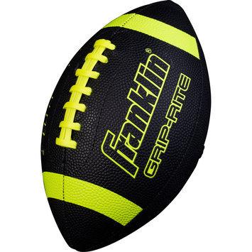 Franklin Sports Grip Rite Jr. Football - Black/Optic Yellow