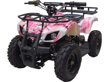 Big Toys MotoTec 24v Mini Quad v4 Wagons ATV Color: Pink