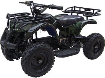 Big Toys MotoTec 24v Mini Quad v4 Wagons ATV Color: Camo