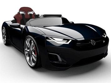 Big Toys Henes Broon F830 12v Car with Tablet Color: Black